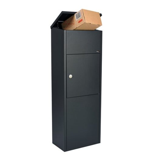 postkasse med pakke